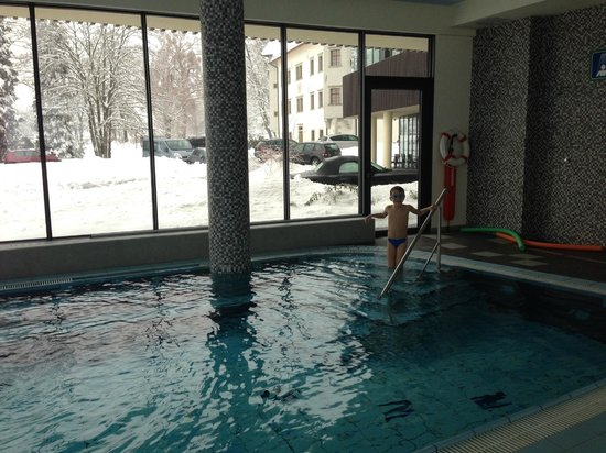 Lambergh, Chateau & Hotel: Pool