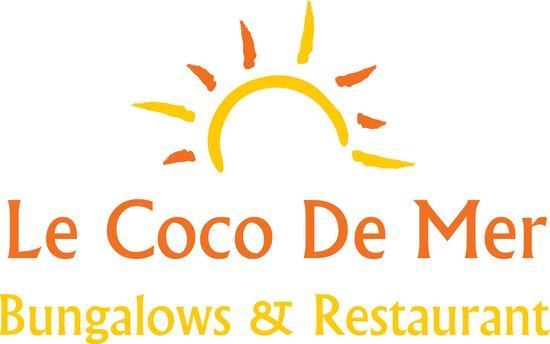 Le Coco De Mer Bungalows & Restaurant : logo