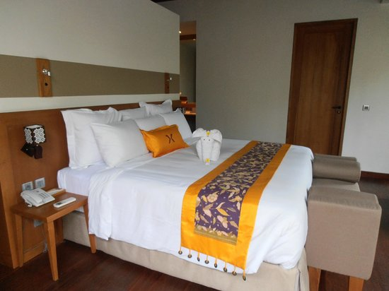 KoenoKoeni Villa: amazingly comfortable bed