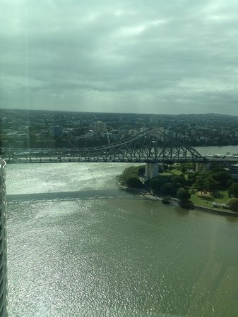 Brisbane Marriott Hotel: View from room 2802
