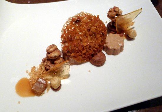 Restaurant Taste!: Dessert chocolade en praliné