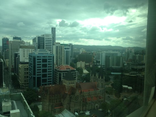 Brisbane Marriott Hotel: View from Executive Lounge