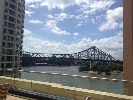 Brisbane Marriott Hotel: View from gym