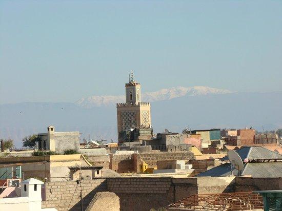 Riad Talaa 12: Vue de la terrasse