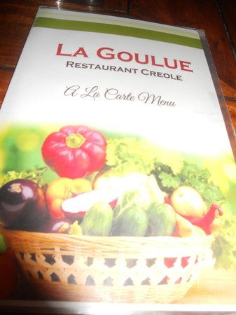 La Goulue: Menu 2