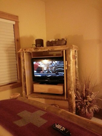 Niwot Inn & Spa : Tv cabinet