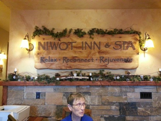 Niwot Inn & Spa : Niwot lnn Spa