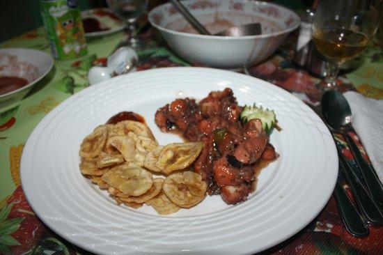 Hostal Casa di  Elio Ramos: la cena
