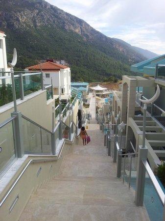 Orka Sunlife Hotel: Long way down
