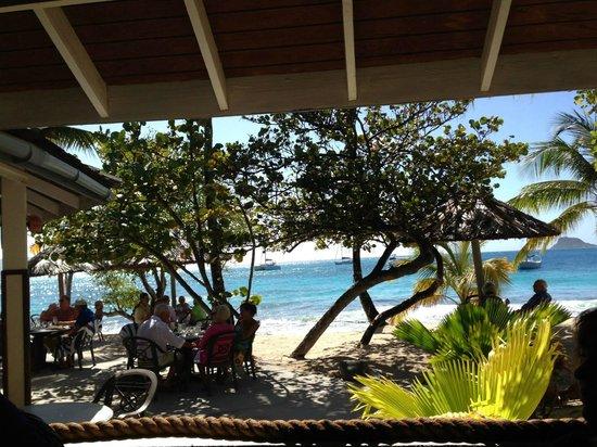Palm Island Resort & Spa: View from Sunset Restaurant