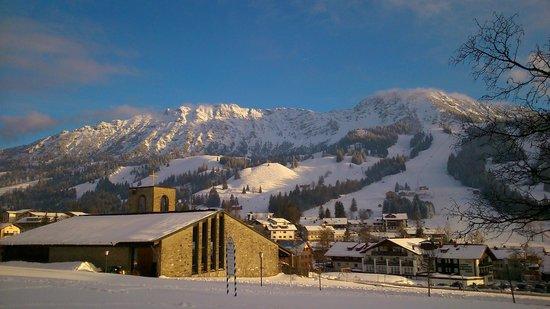 Oberjoch, Niemcy: Blick vom Hotel