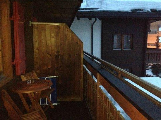 Hotel Dufour Alpin Zermatt : Balcone