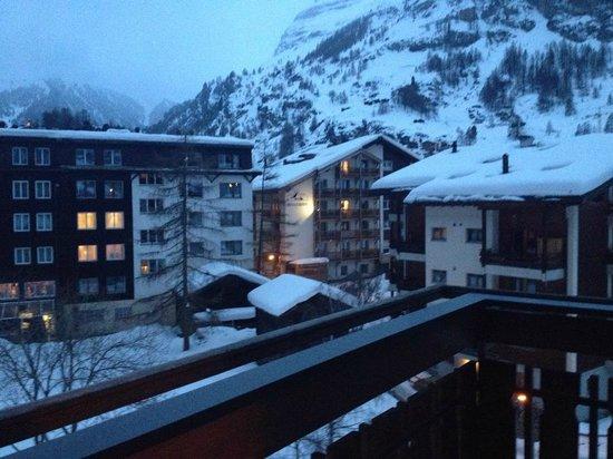 Hotel Dufour Alpin Zermatt : vista