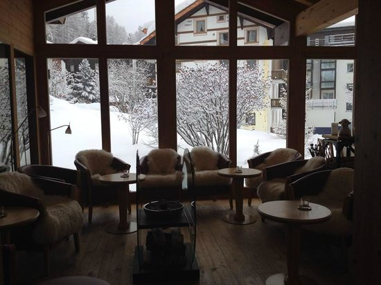 Hotel Dufour Alpin Zermatt : Sala