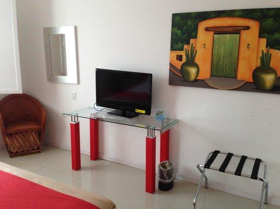 Hotel Zar La Paz: interior room