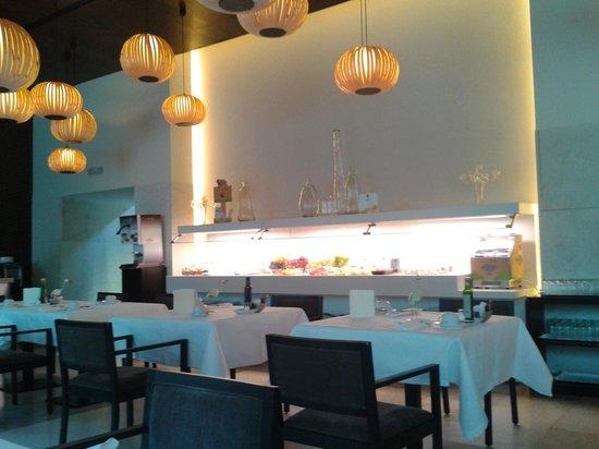 Parador de Alcalá de Henares: Restaurante Desayunos.