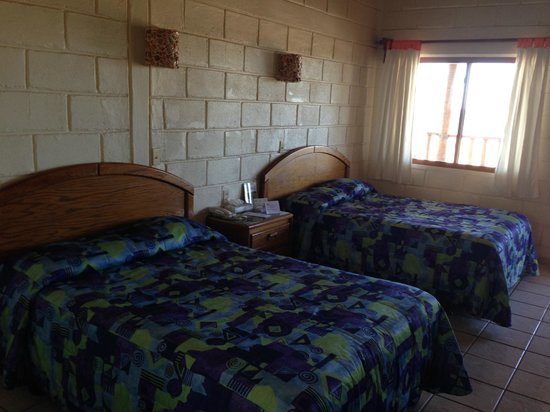 Hotel Oasis: large room, comfortable large beds