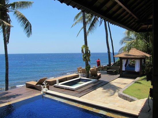 Villa Alba Dive Resort: Lower Pool, Terrace, Beach