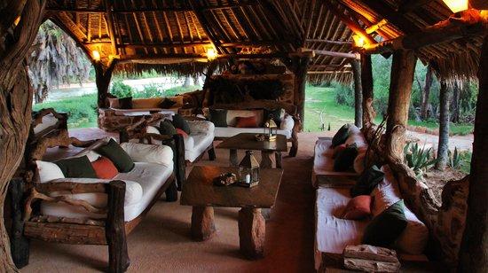 Galdessa Camp: lounge