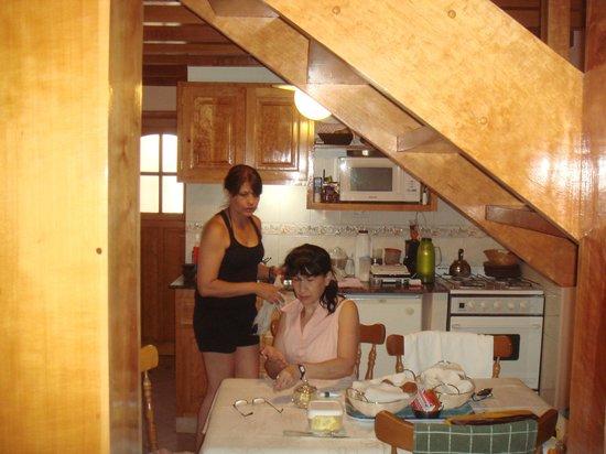 Cabanas Lugar Sonado: Foto en la cocina