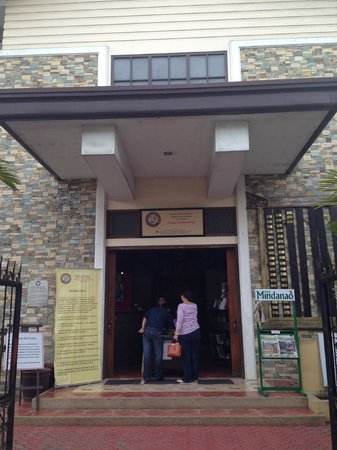 Davao Museum of History and Ethnography: Entrance Area
