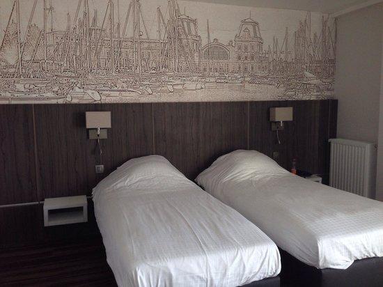 Royal Astrid Hotel : Lits séparés ...