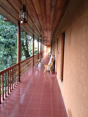 Thekkady - Woods n Spice, A Sterling Holidays Resort : View from Room.