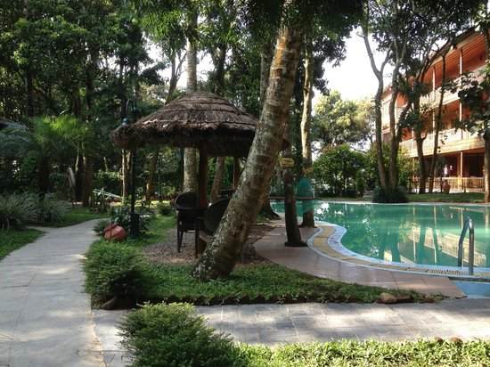 Thekkady - Woods n Spice, A Sterling Holidays Resort : Pool area