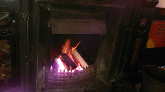 The Blind Piper: Cozy Fireplace