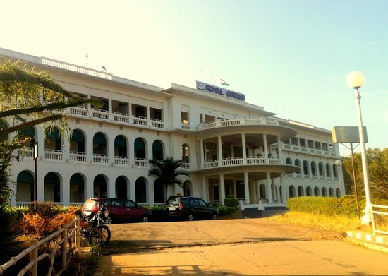 Royal Orchid Brindavan Gardens: The Hotel View from the Garden