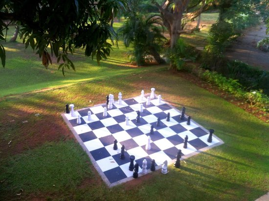 Royal Orchid Brindavan Gardens: Chess by the Lawn