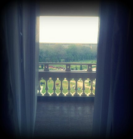 "Royal Orchid Brindavan Gardens: View of Brindavans from the ""Queen Bed"" room"