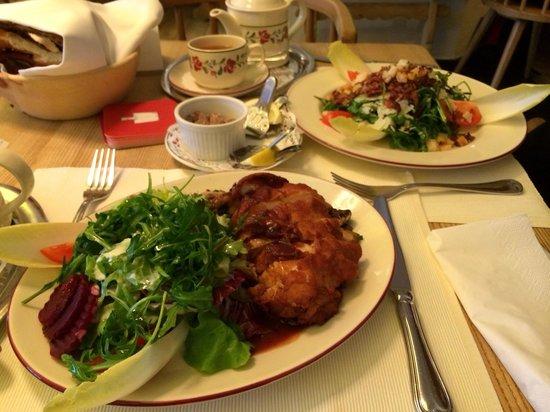 Spatenhof: Bavarian chicken salad