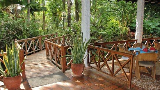 Pinewood Beach Resort & Spa: veranda