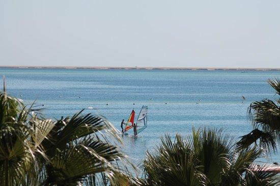 Giftun Azur Resort : Udsigt ud over havet/såkaldt delvis havudsigt