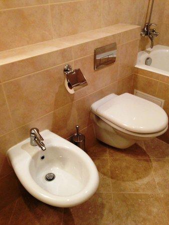 Premier Hotel Rus: 一部の部屋ではトイレとビデが完備されていました