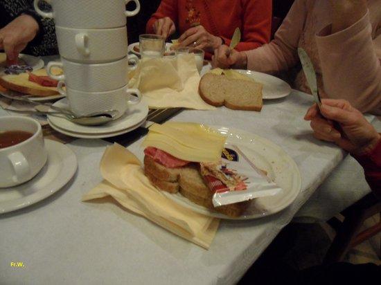 Hotel De Hoeve van Nunspeet: De lunch .