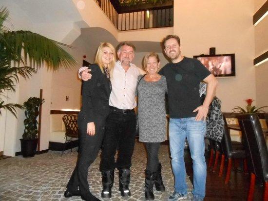 Hotel Residence Agnes: Thanks Magda & Frank!
