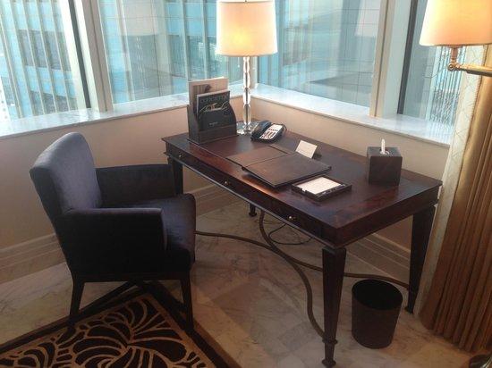 The St. Regis Abu Dhabi: St regis suite: study table