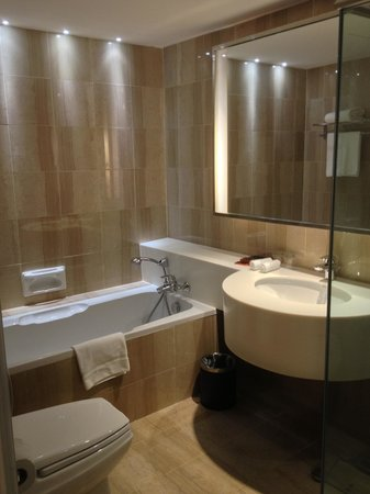 Toilet with bath tub & separate rain shower - Picture of Pullman ...