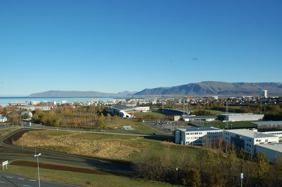Reykjavik Lights by Keahotels : View from room on 8th floor