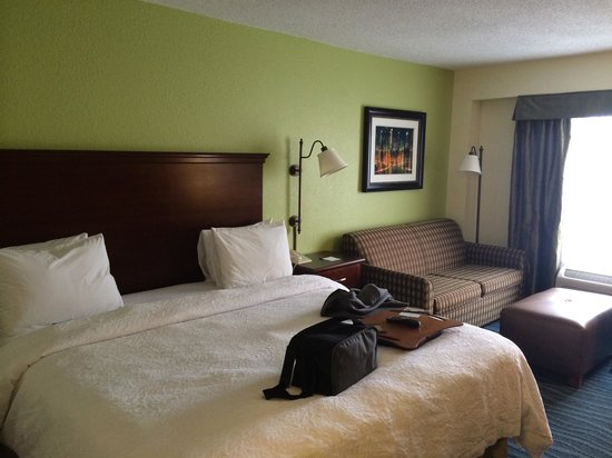 Hampton Inn Perimeter Center: bedroom