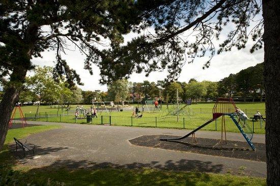 Craig-y-Don Park: Craig y Don Park Llandudno play area