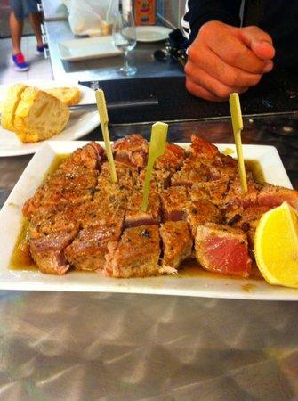 Pyrénées Marée : Steak de Thon