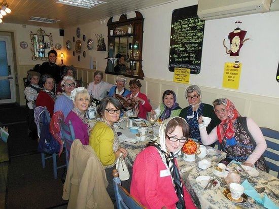 Willow Cafe Tea Room: Tea time