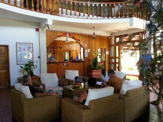 Patatran Village Hotel: reception