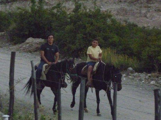 El Pinar en La Ventana : Cabalgata4