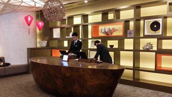 Pan Pacific Singapore: Fantastic front desk service!