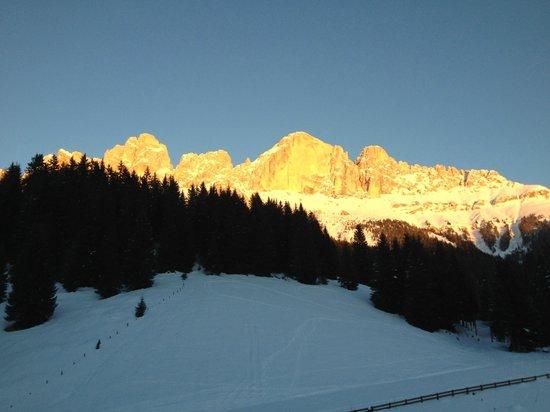 Berghotel Moseralm: il tramonto