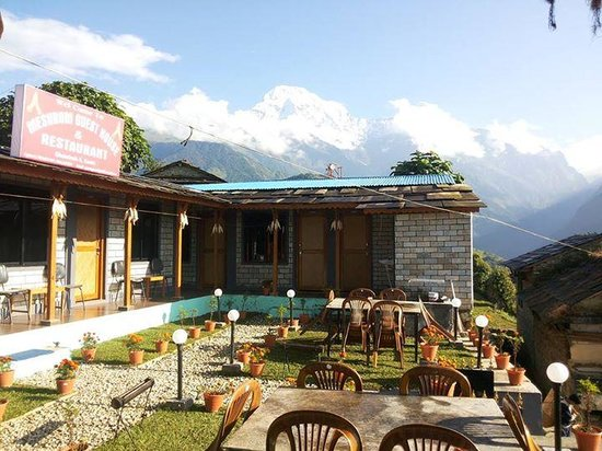 Dining hall picture of meshrom guest house ghandruk for House dining hall images